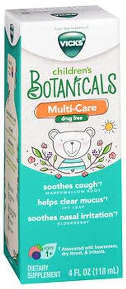 Vicks Children's Botanicals Multi-Care Drug Free Dietary Supplement Liquid - 4 oz
