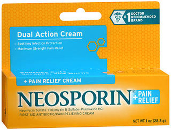 Neosporin + Pain Relief Cream - 1 oz