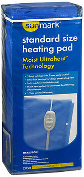 Sunmark Standard Size Heating Pad Moist