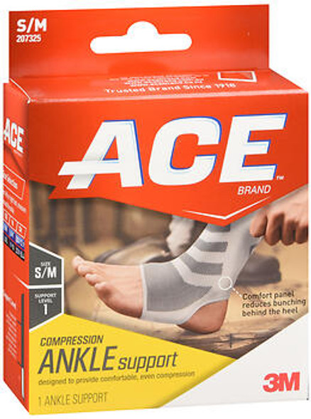ACE Compression Ankle Support Small/Medium - 1 each