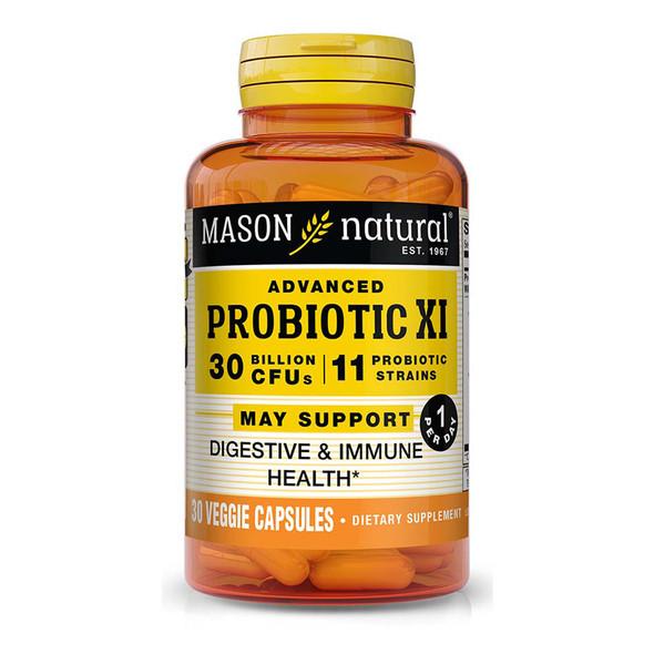 Mason Natural Advanced Probiotic XI - 30 ct