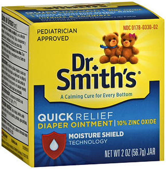Dr. Smith's Quick Relief Diaper Ointment - 2 oz