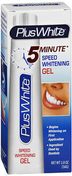 Plus White 5 Minute Speed Whitening Gel - 2 oz