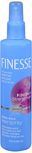 Finesse Finish + Strengthen Hairspray Extra Hold - 8.5 oz