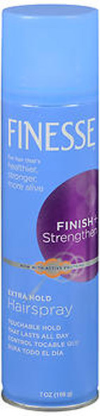 Finesse Finish + Strengthen Hairspray Extra Hold - 7 oz