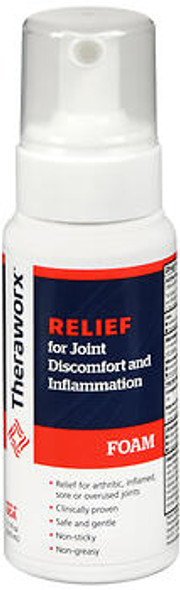 Theraworx Relief for Joint Discomfort and Inflammation Foam, 7.1oz