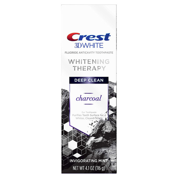 Charcoal Deep Clean Toothpaste Invigorating Mint 4.1 oz.