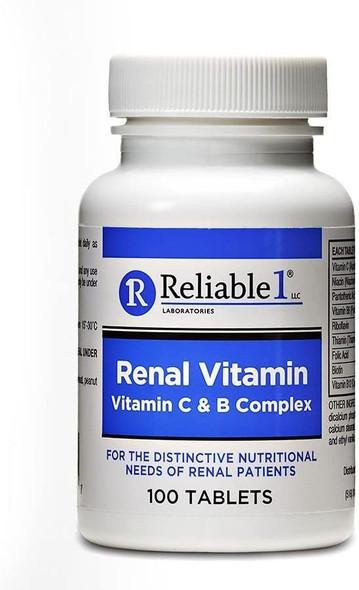 Reliable 1 Vitamin C & B Complex 100 ct.