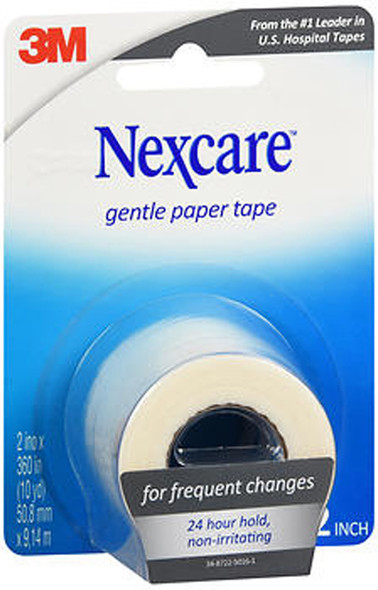 Nexcare Gentle Paper First Aid Tape, 2 Inches X 10 Yards