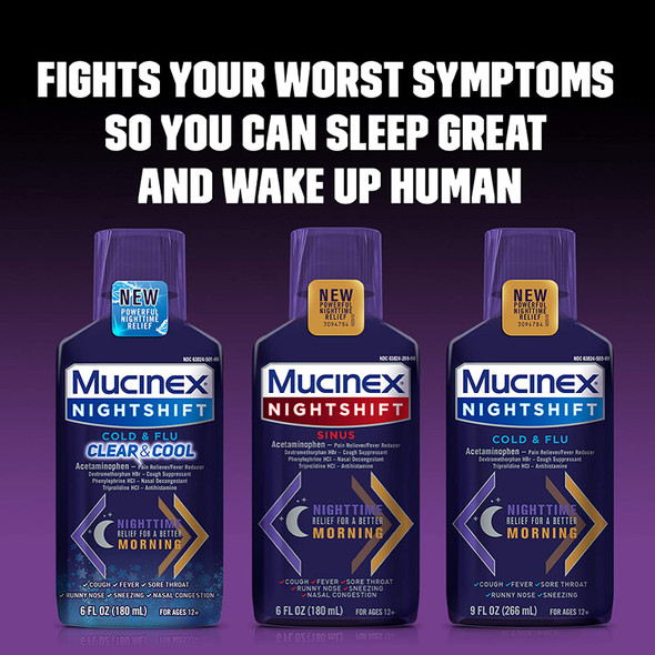 MUCINEX Nightshift Sinus 6 fl. oz.