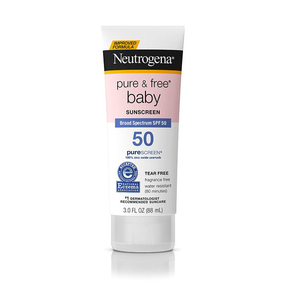 Neutrogena Pure & Free Baby Spf50 3oz.