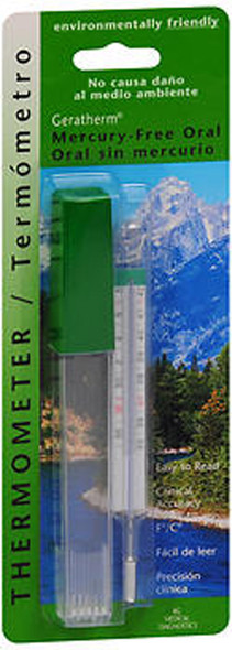 Geratherm Thermometer Oral Mercury Free - Each