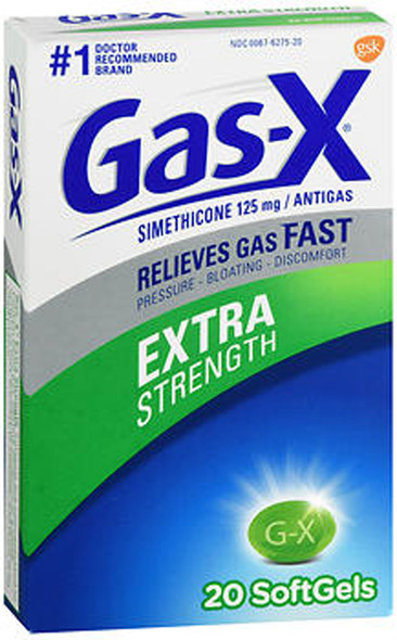 Gas-X Extra Strength Softgels - 20 ct