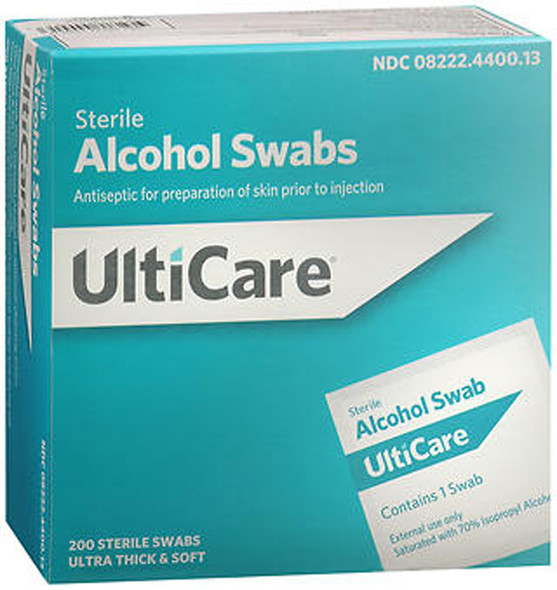UltiCare Sterile Alcohol Swabs - 200 ct