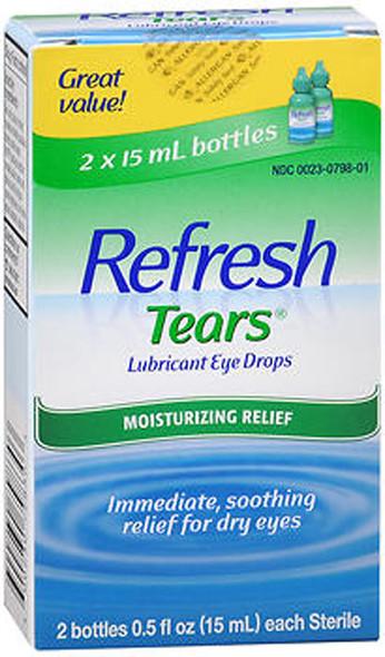Refresh Tears Lubricant Eye Drops - 2 - 0.5 oz