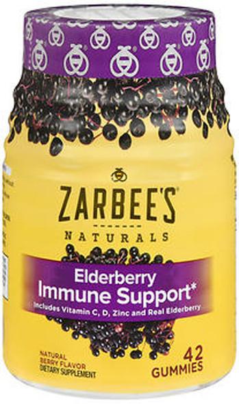 Zarbee's Naturals Elderberry Immune Support Gummies - 42 ct