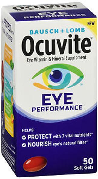 Bausch + Lomb Ocuvite Eye Performance Soft Gels - 60 ct