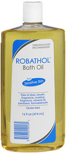 RoBathol Bath Oil, Sensitive Skin - 16 oz
