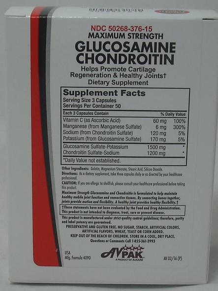 AvPak Glucosamine Chondroitin, 50 Count