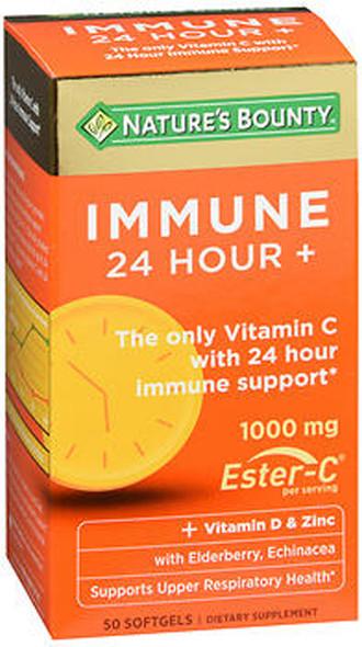 Nature's Bounty Immune 24 Hour+ Softgels - 50 ct