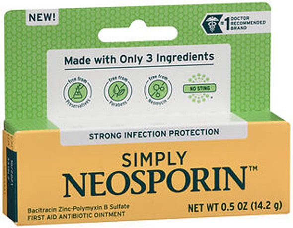 Simply Neosporin Ointment - .5 oz
