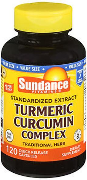 Sundance Vitamins Standardized Extract Turmeric Curcumin Complex Quick Release Capsules - 120 ct