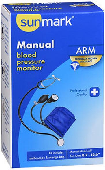 Sunmark Manual Arm Blood Pressure Monitor - Each