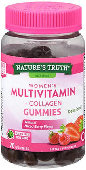 Nature's Truth Women's Multivitamin + Collagen - 70 Gummies