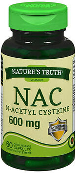 Nature's Truth NAC 600 mg Quick Release Capsules - 60 ct