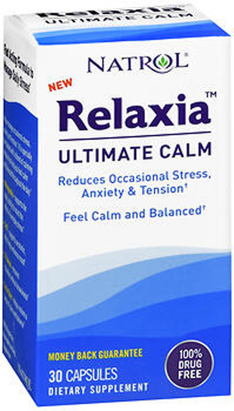 Natrol Relaxia Ultimate Calm Capsules - 30 ct