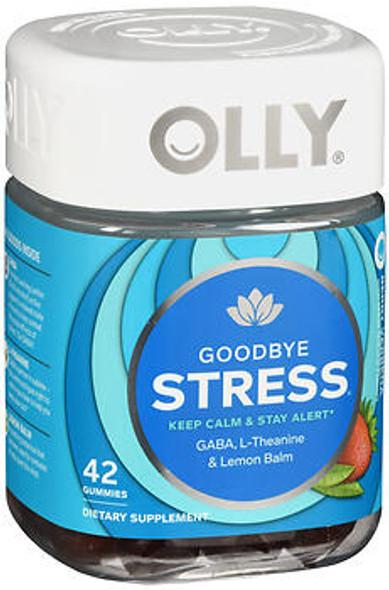 Olly Goodbye Stress Gummies Berry Verbena - 42 ct