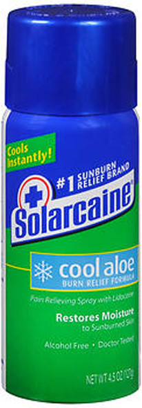 Solarcaine Cool Aloe Burn Relief Spray - 4.5 oz