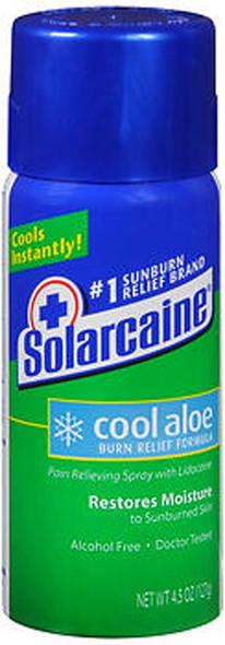 Solarcaine Cool Aloe Burn Relief Spray - 4.5 oz