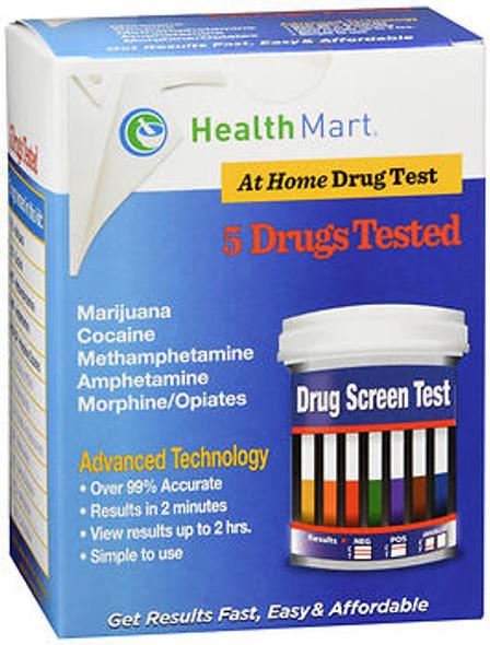 Health Mart 5 Panel At Home Drug Test  - Each