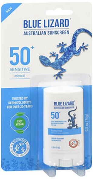 Blue Lizard Sensitive Mineral Sunscreen Stick SPF 50+ - .5 oz