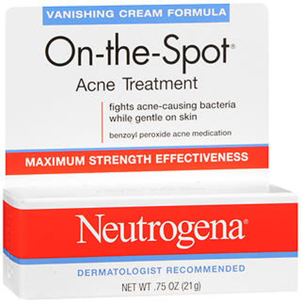 Neutrogena On-The-Spot Acne Treatment Vanishing Cream - 0.75 oz