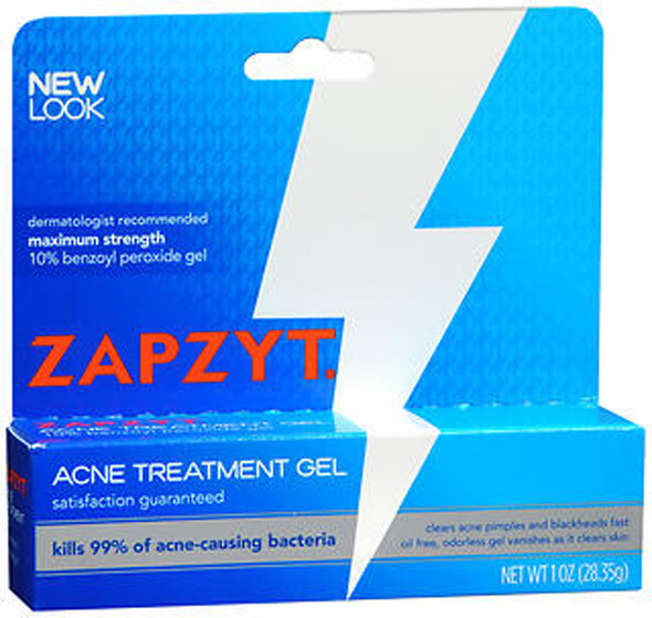 Zapzyt Acne Treatment Gel, Maximum Strength - 1 oz