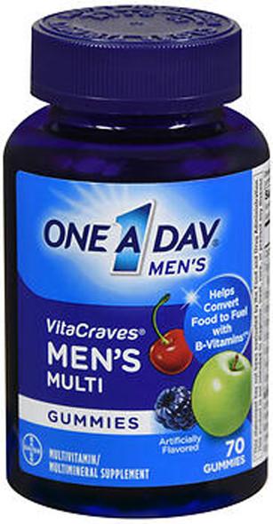 One A Day VitaCraves Men's Multi Gummies - 80 ct