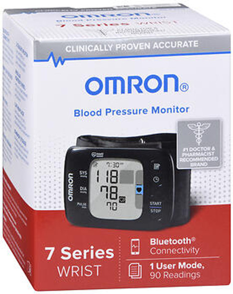 Omron Blood Pressure Monitor 7 Series Wrist BP6350