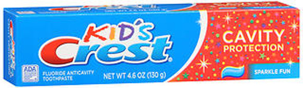 Crest Toothpaste Kids' Cavity Protection Sparkle Fun Flavor - 4.6 oz