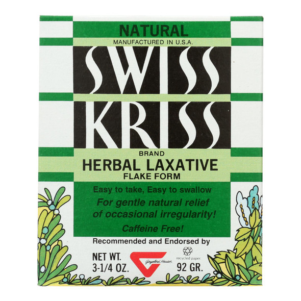 Modern Natural Products Swiss Kriss Herbal Laxative - 3.25 Oz