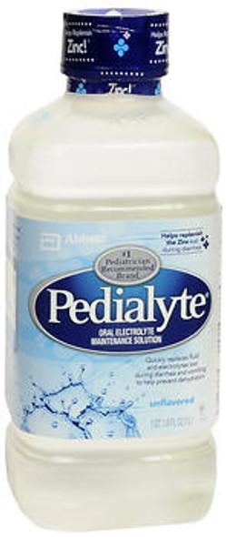 Pedialyte Liquid - Unflavored - 33.8 oz