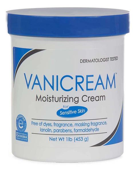 Vanicream Moisturizing Skin Cream, Sensitive - 16 oz