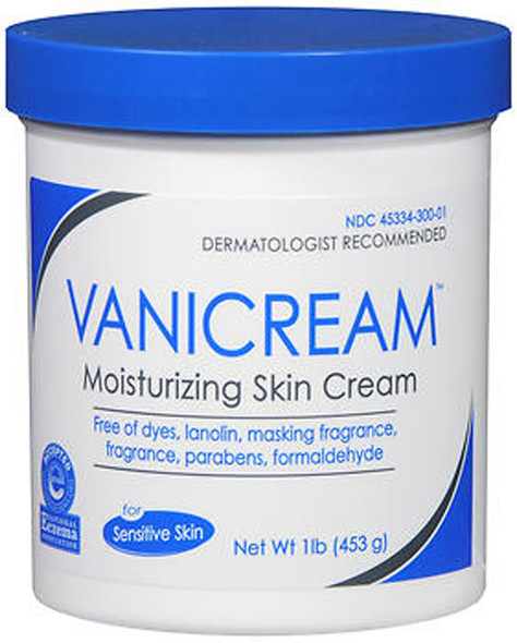 Vanicream Moisturizing Skin Cream, Sensitive - 16 oz