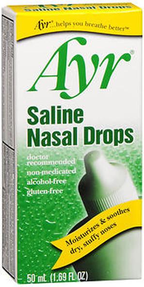 Ayr Saline Nasal Drops - 1.69 oz