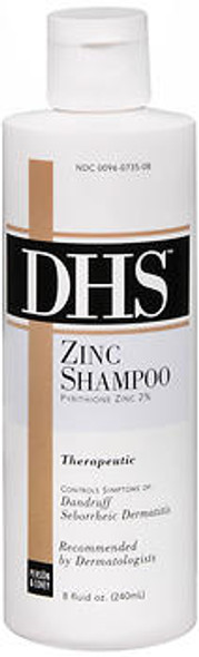 DHS Zinc Shampoo - 8 oz