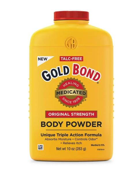 Gold Bond Medicated Body Powder Original Strength - 10 oz