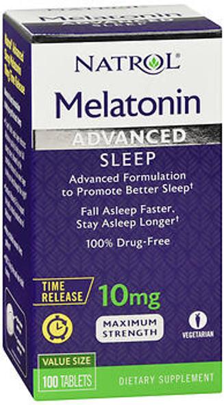 Natrol Melatonin 10 mg Tablets - 100 ct