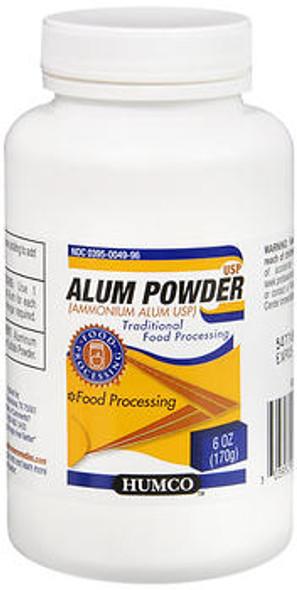 Humco Alum Powder - 6 oz