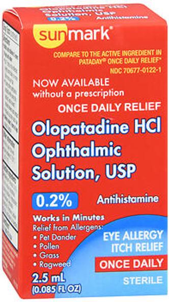 Sunmark Olopatadine HCI Ophthalmic Solution, USP - 2.5 ML